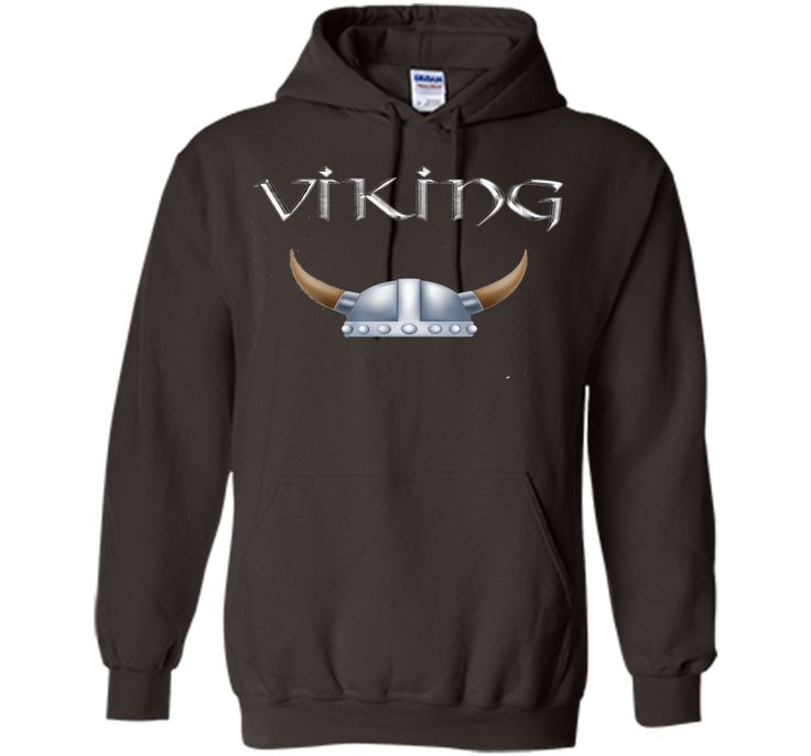 Viking Horns Helmet T Shirt Scandinavian Swedish Norwegian
