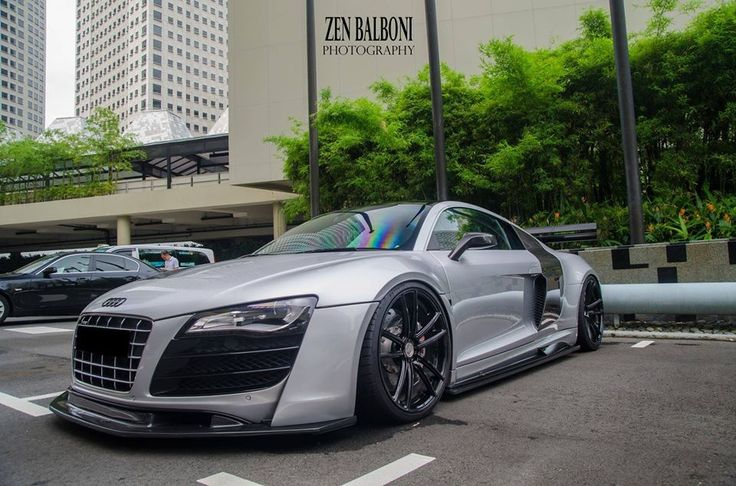 The Perfect Stance Audi R8... cars Pinterest