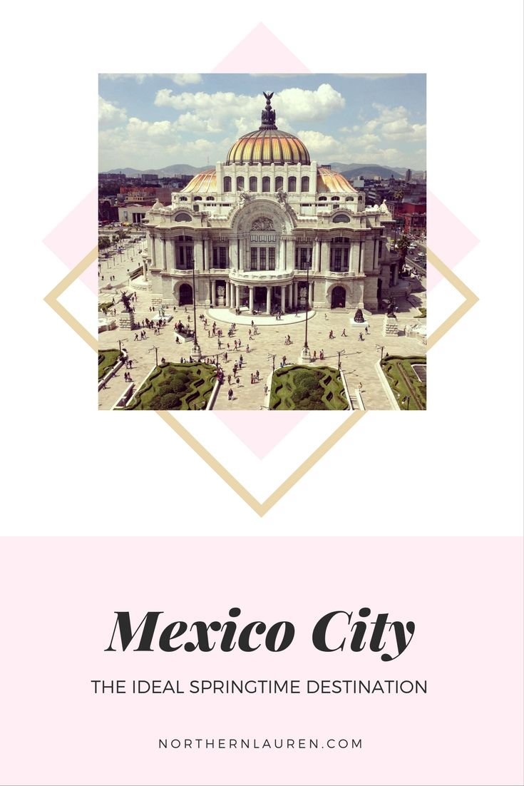 The ideal spring break destination, with culture, class and cheap prices, these are all the reasons why Mexico City is the best place to visit in Spring. Mexico City - better in the spring!