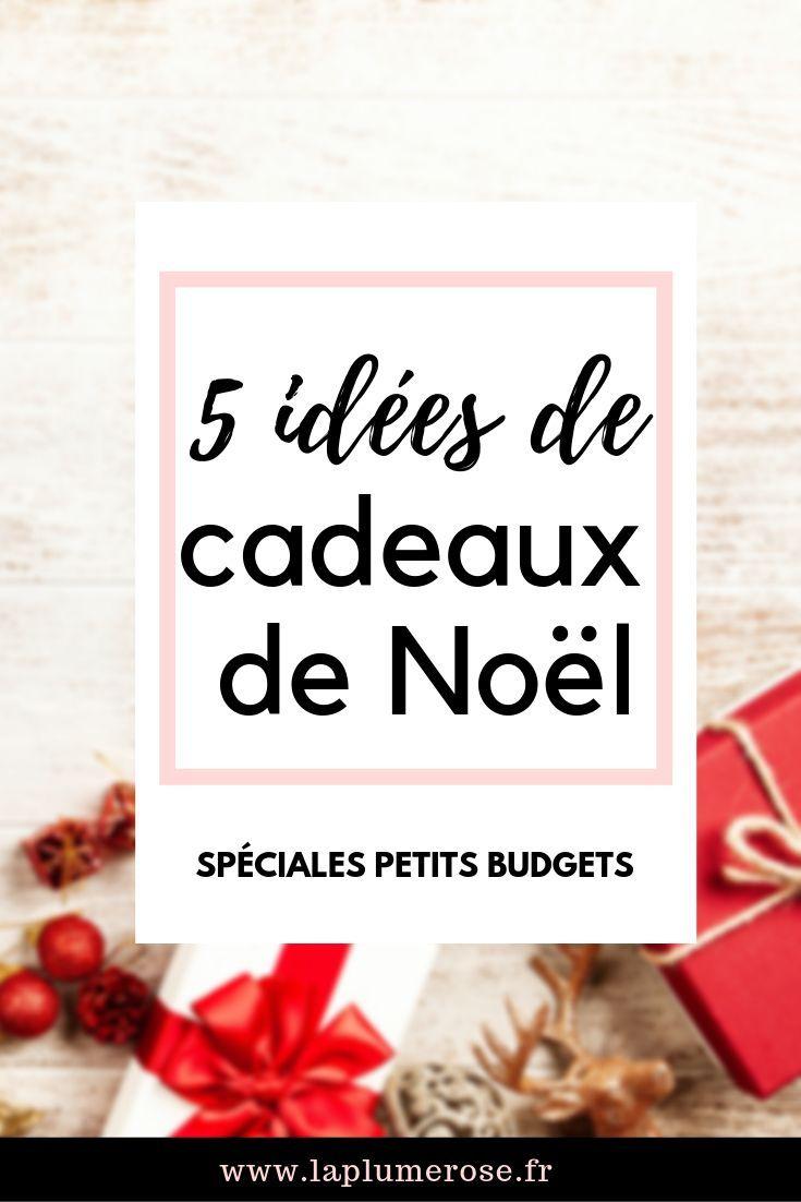 5 idées de cadeaux petits budgets pour Noël | Idées cadeaux