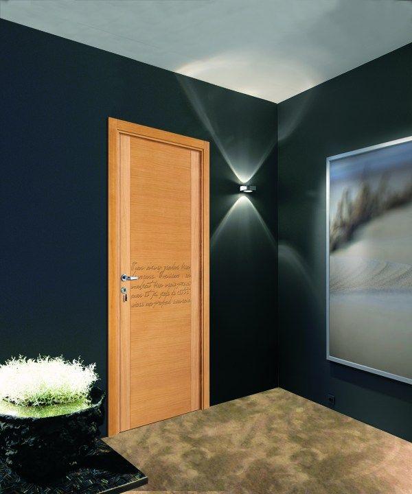 porte poussante en ch ne p doncul avec charni res escamotables manuscrit reivilo porte. Black Bedroom Furniture Sets. Home Design Ideas