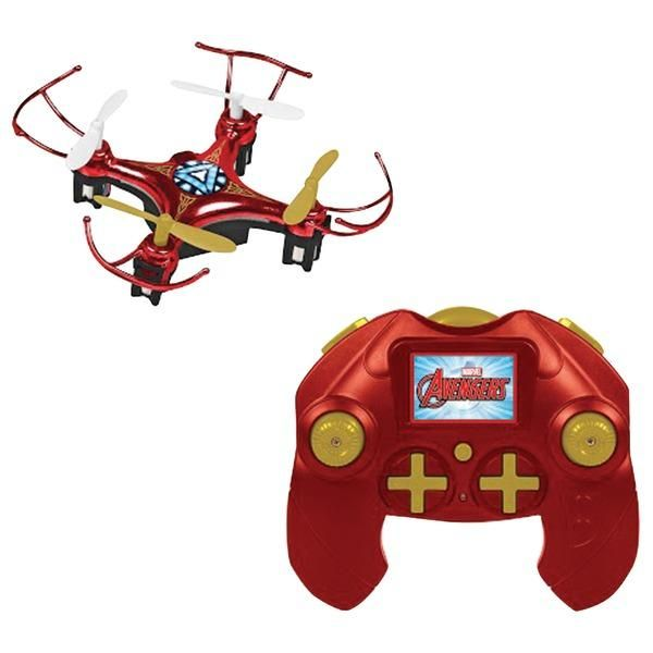Marvel 33758 Remote-Control 4.5-Channel 2.4GHz Marvel(R) Iron Man(R) Micro Drone