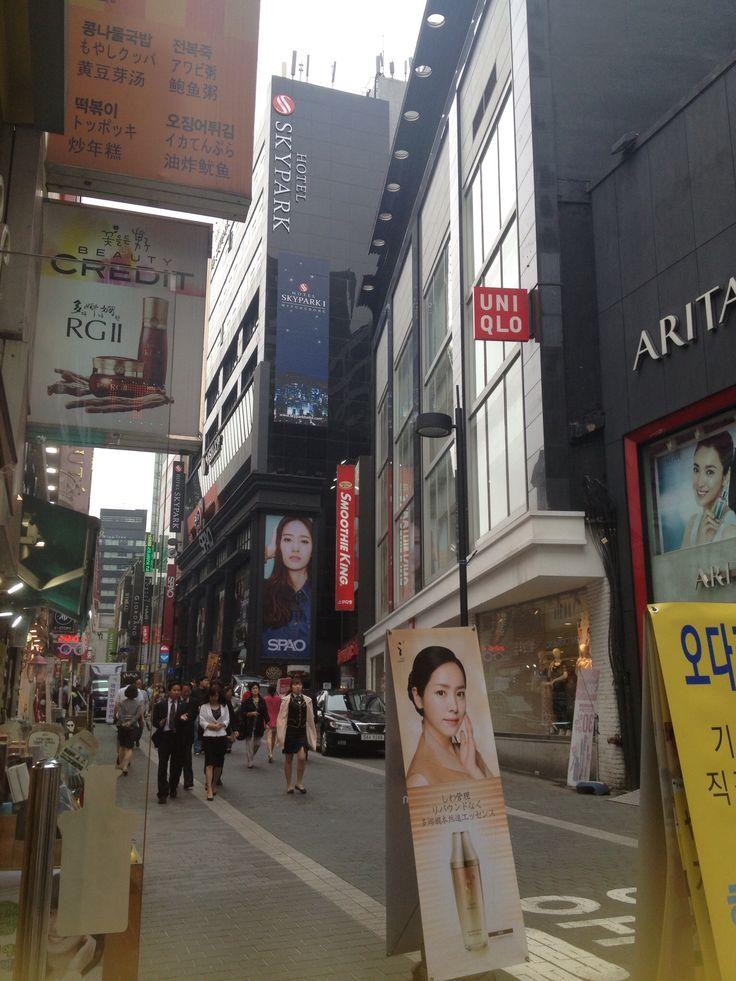 Myeongdong market