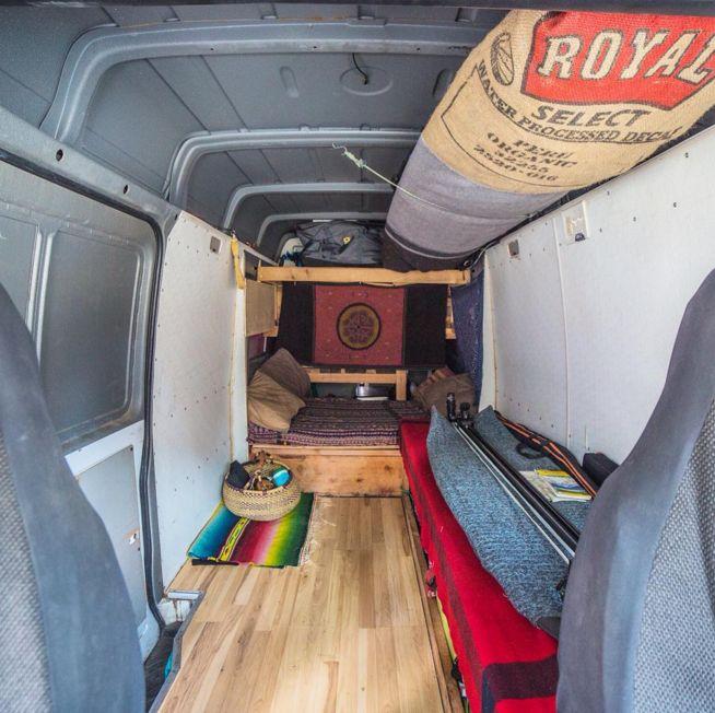 Sprinter Van conversion for surfing