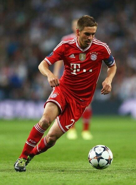 Philipp Lahm is a German footballer who plays as a full back or defensive midfielder for Bayern Munich and the German national team, both of which he captains.
