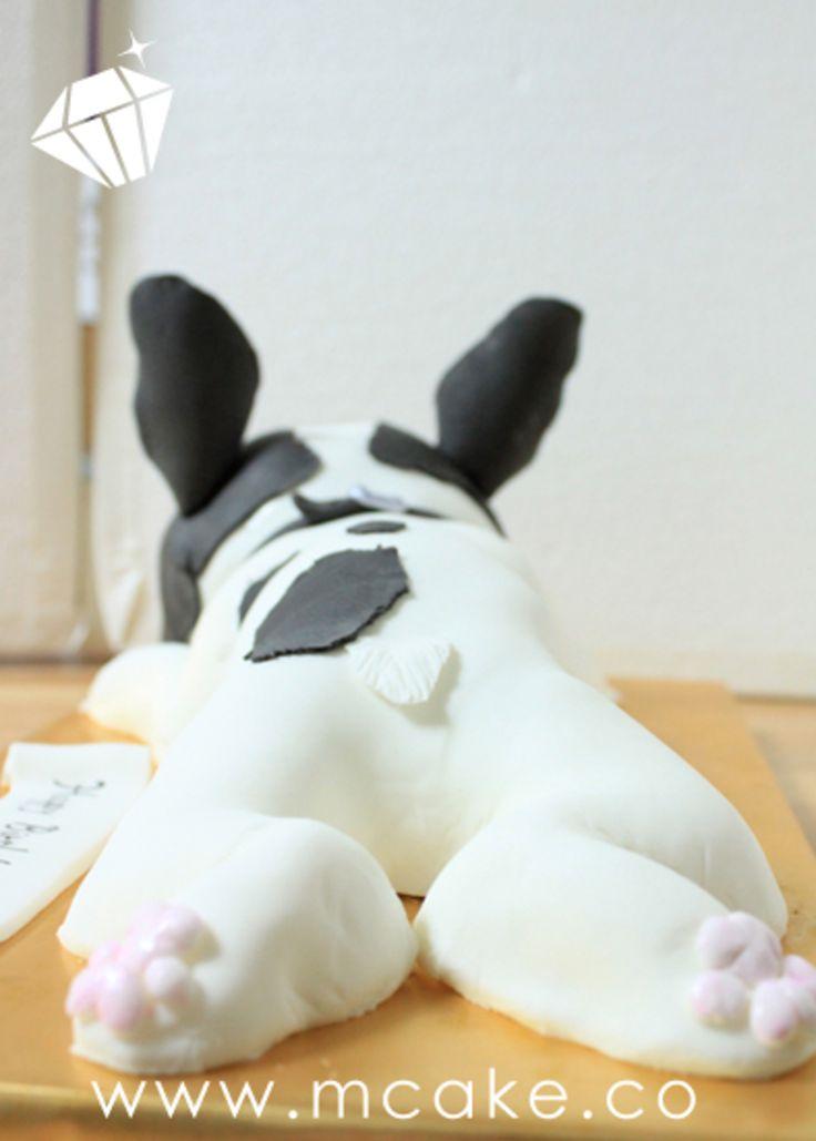 French Bulldog Cake Kiss Of Cake Pinterest French