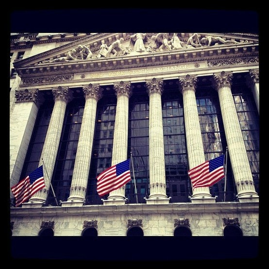 NY stock exchange. #Pin By:Pinterest++ for iPad#