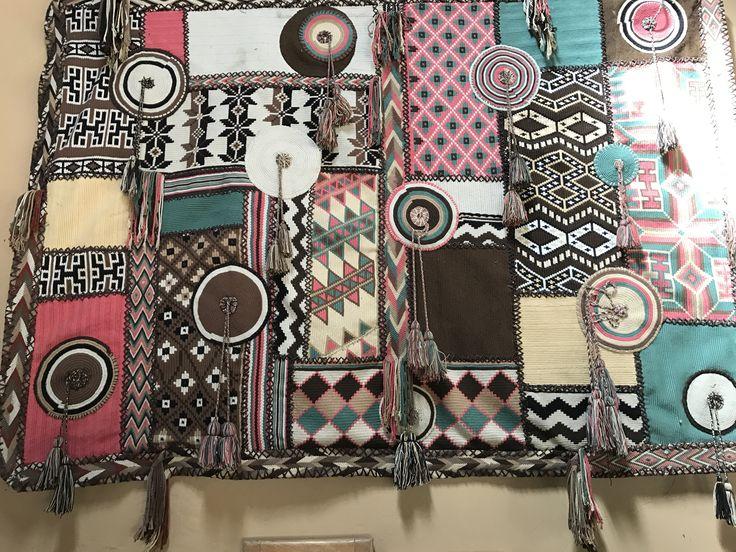 Textile hanging at El Matuy, Palomino,Colombia