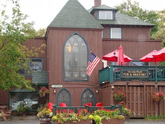 Lake Placid Pub & Brewery!  http://www.facebook.com/pages/The-Lake-Placid-Pub-and-Brewery/101150649986