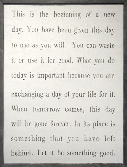 New day.Wall Art, Daily Reminder, Remember This, Life, Inspiration, Quotes, Art Prints,  Slipstick, Living