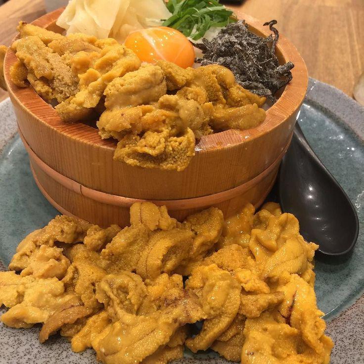 先日食べたうに虎のウニ丼毎晩夢に出てくるんですがどうしましょう究極のウニ丼でした() #うに虎 #seaurchin #sushi #銀座#築地#うに部#デブリシャス by pipi_twin