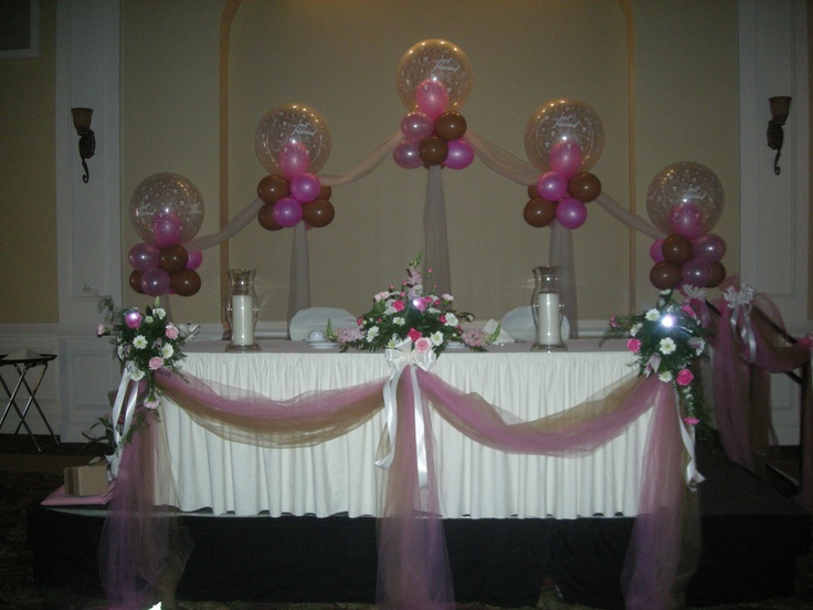181 best images about night to shine prom on pinterest for Balloon decoration for wedding receptions