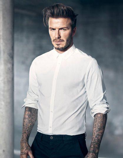 In beeld: David Beckham ontwerpt opnieuw ondergoed voor H&M en breidt collectie uit - Mode - KnackWeekend.be