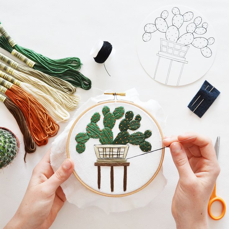 Best sarah k benning contemporary embroidery images
