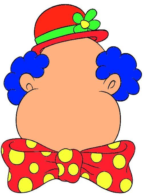Plasticinekaart: Geef de clown een gezicht (Juf Emmily)