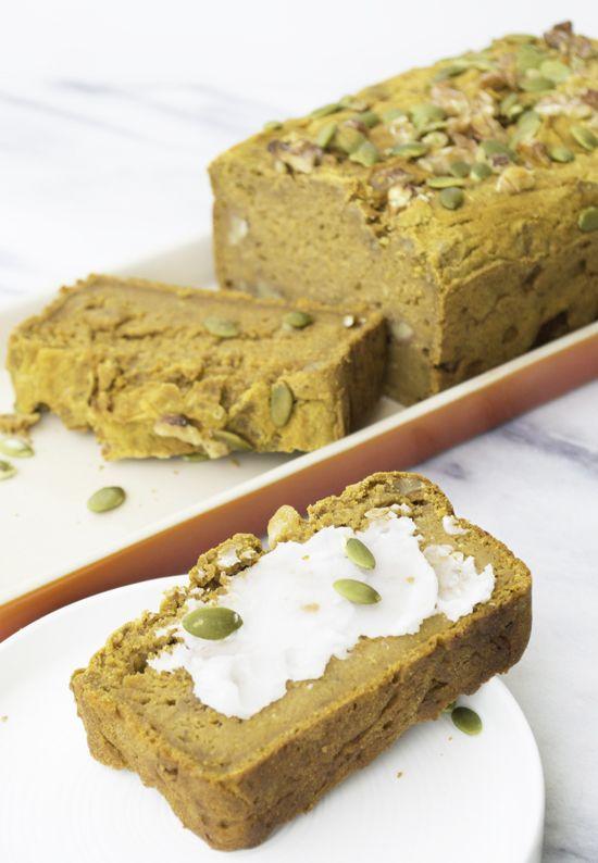 Sweet Potato Walnut Quick Bread