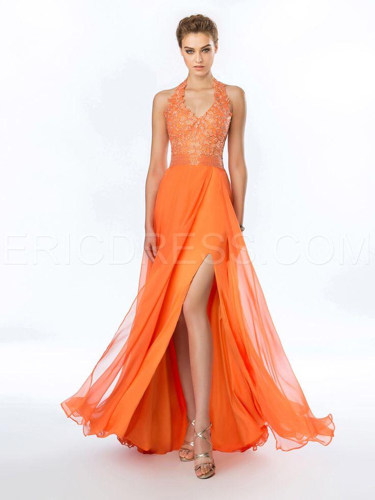 54 best Orange Formal images on Pinterest | Evening dresses ...