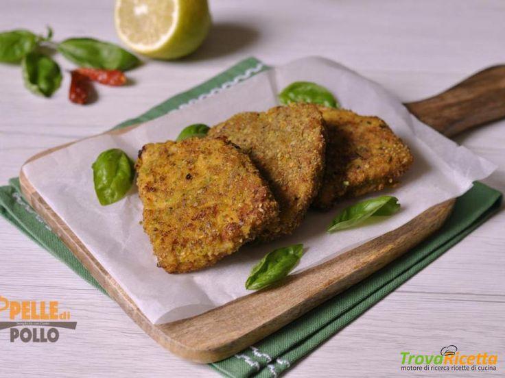 Cotolette di pesce spada con pistacchi e paprika  #ricette #food #recipes