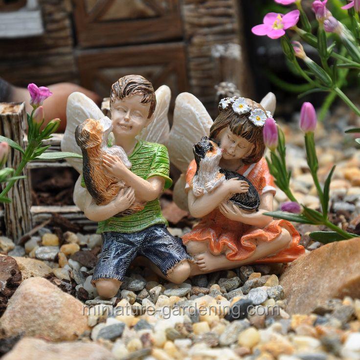 Fairies Dylan And Daisy. Fairy GardeningFairies GardenGarden GnomesMiniature  ...