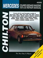 Mercedes Benz Coupes/Sedans/Wagons 1974-84 Chilton Manual: Covers All models of 190 230 240 280 300 380… #CarParts #AutoParts #TruckParts