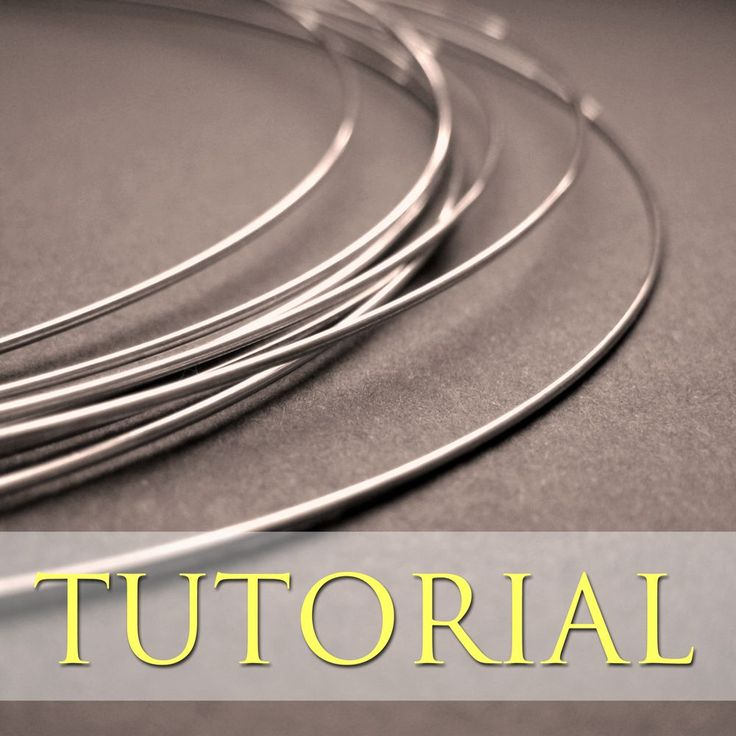 Softening Sterling Silver Wire | JewelryLessons.com free #tutorial #wirework