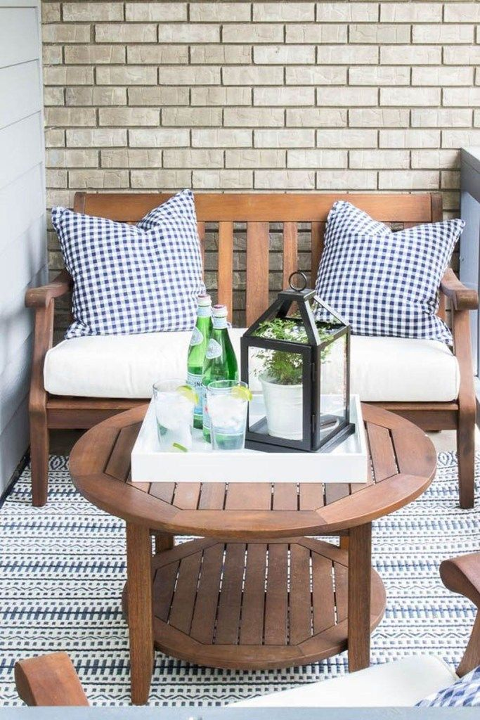 42 Lovely Front Porch Decor Ideas Match For Any Home Design Small Outdoor Patios Diy Patio Small Patio