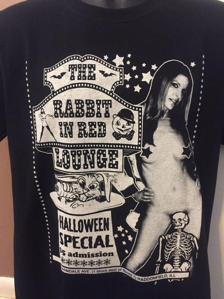 Rabbit In Red T-shirt Halloween horror gore rob zombie michael myers sherri moon #Undisclosed #BasicTee