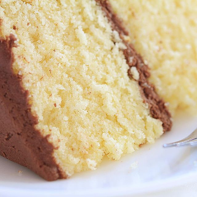 Quick Easy Moist Vanilla Cake Recipe