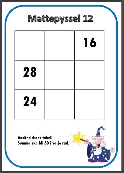 Mattepyssel är 34 kort med kluriga matteuppgifter med facit i A5-format.