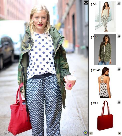 Street Style - Shop matching products in this pic at http://www.stylediggin.com/morning-monochrome-madness/