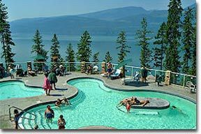 Been there...Halcyon Hot Springs. You have to go. Arrow Lake/West Kootenays.