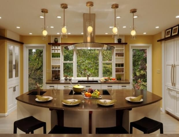 Cool With Eat In Kitchen Island