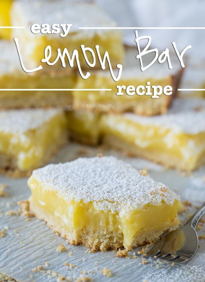I've had numerous requests for me to share an Easy Lemon Bar Recipe on my site, and since I'm always ready to please the masses, here is my ultimate Lemon Bar recipe! I combined my favorite buttery crust from these Pecan Pie Bars and my lemon bar filling from my Lemon Bar Magic Cake. So you know this Frankenstein dessert is filled with absolute goodness! The filling is thick and creamy, with a silky smooth texture and the perfect balance ofsweet and tart. The key to making these easi...