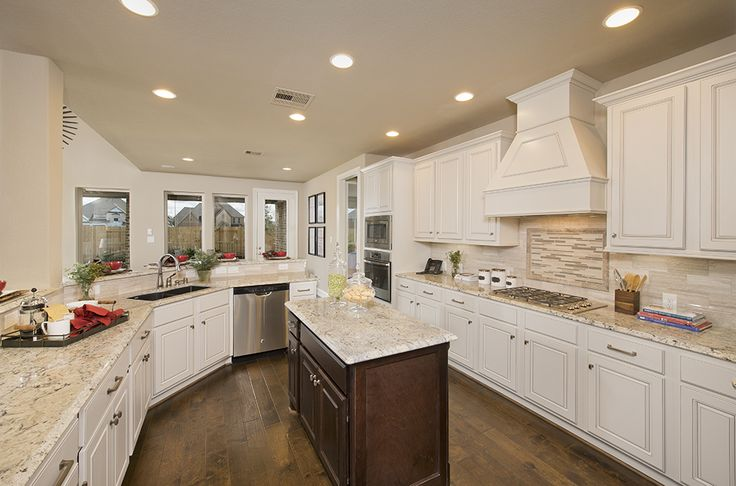 Cinco Ranch Model Home 4 098 Sq Ft Gourmet Kitchen