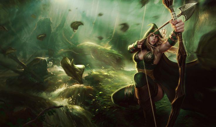 Ashe | League of Legends http://www.helpmedias.com/leagueoflegends.php