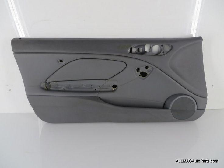 2001-2006 BMW M3 Left Front Door Trim Panel Grey 57 51417894463 E46