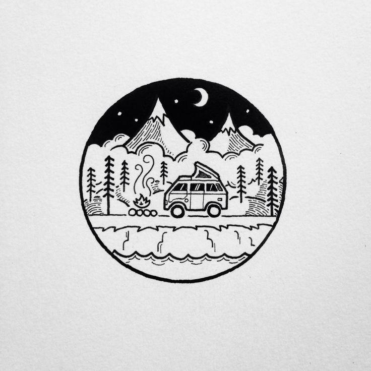 Черно белые картинки круглые