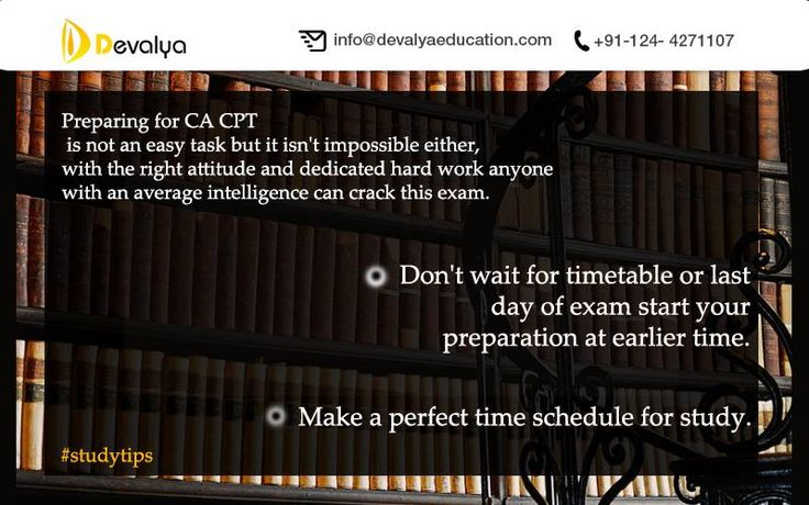 Devalya Education is a Best CA CPT Coaching institute in Gurgaon because of its teaching skills, professional faculty, study material, test series conduction etc. There is no doubt that Devalya puts lots of efforts to guide their students so that they can learn well.