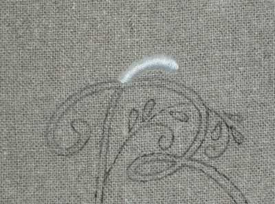 learn to embroider a monogram