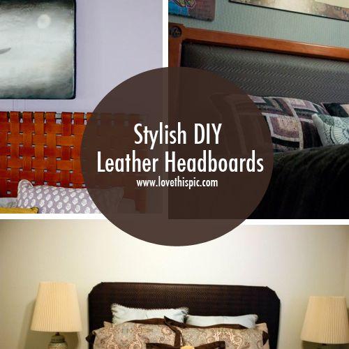 stylish diy leather headboards diy diy crafts do it yourself headboards leather headboards - Aquarium Kopfteil Diy