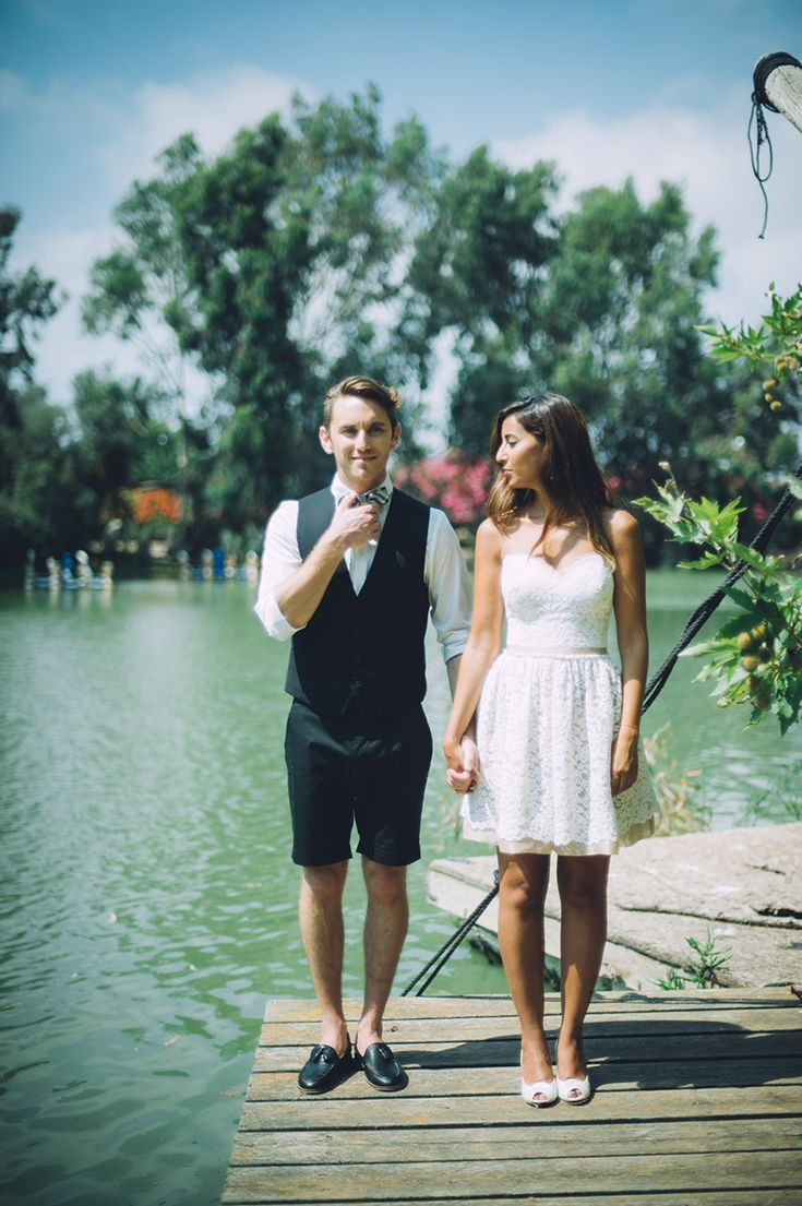 Fun Summer Styled Wedding Inspiration By The Lake