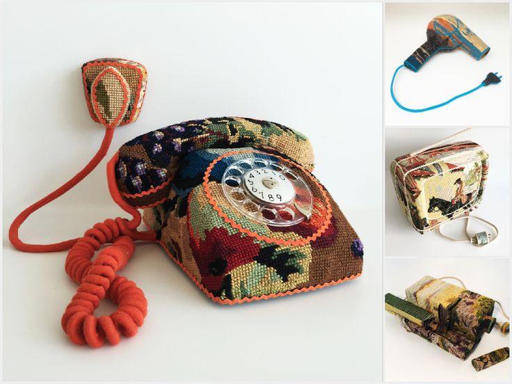 Objectos vintage com uma segunda vida... de crochet | P3