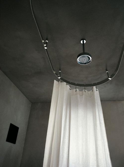 love a circular shower rod
