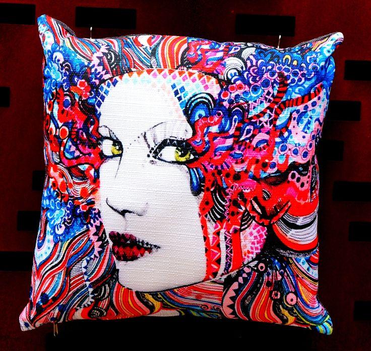 decorative cushion DesignOmania by Maggie Piu