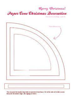 victorian paper cones - Google Search