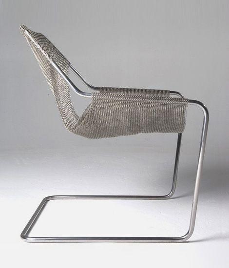 Chain mail chair