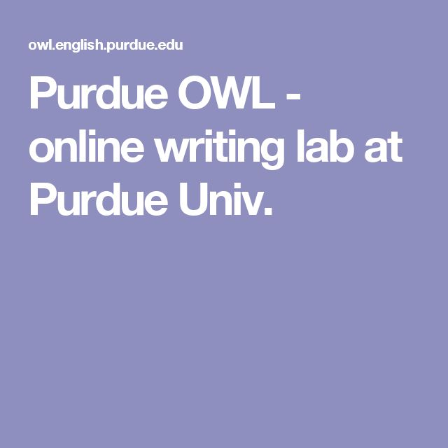 exploratory essay purdue owl Exploratory essay is different from the majority of other types of academic writing because its very name presupposes that you pass through unknown territory.