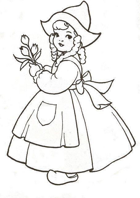 dutch children coloring pages - photo#24