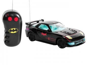 Carrinho de Controle Remoto Batman Candide - 3 Funções Alcance 10 à 20 Metros