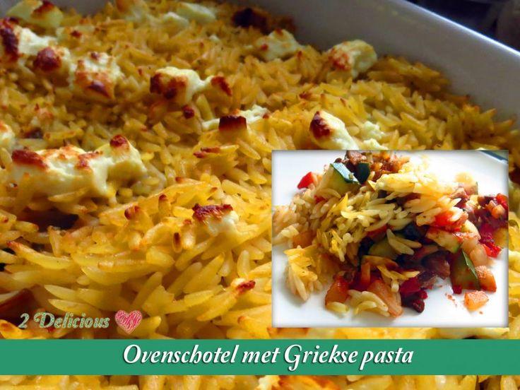 Ovenschotel Met Griekse Pasta recept   Smulweb.nl